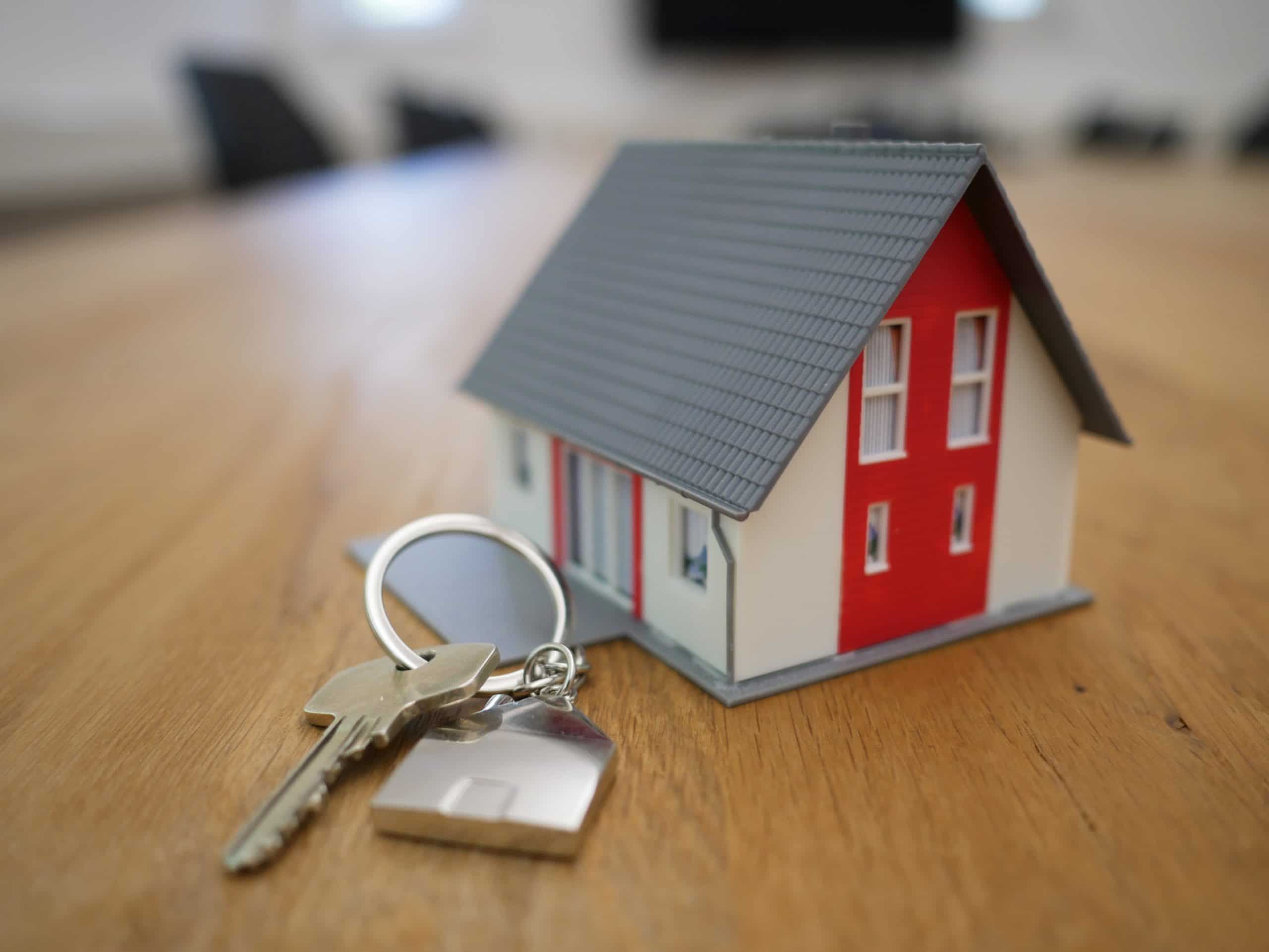 house keys to represent real estate industry